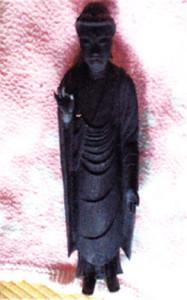 修理後の仏像全体図